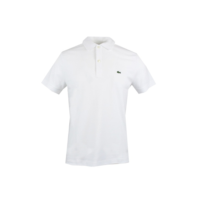 POLO REGULAR FIT Bianco Lacoste