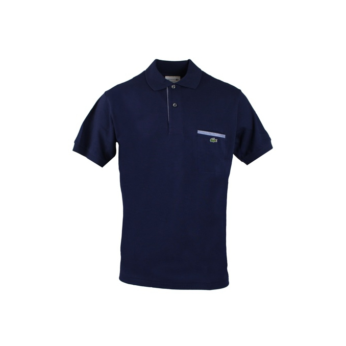 POLO TASCHINO Navy Lacoste