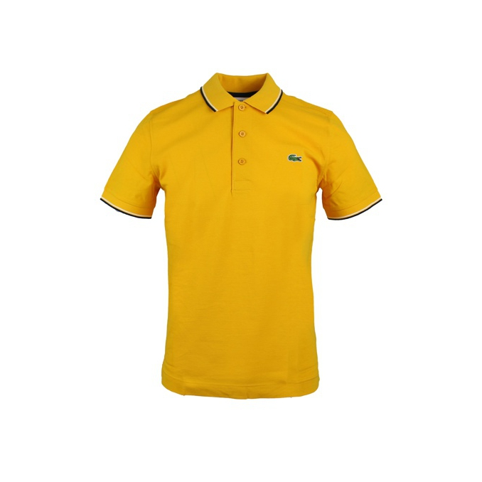 POLO SPORT STRETCH Senape Lacoste