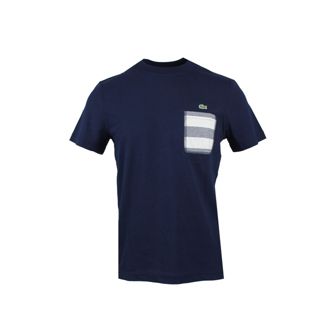 T-SHIRT TASCA Navy Lacoste