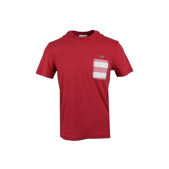 T-SHIRT TASCA Rosso Lacoste