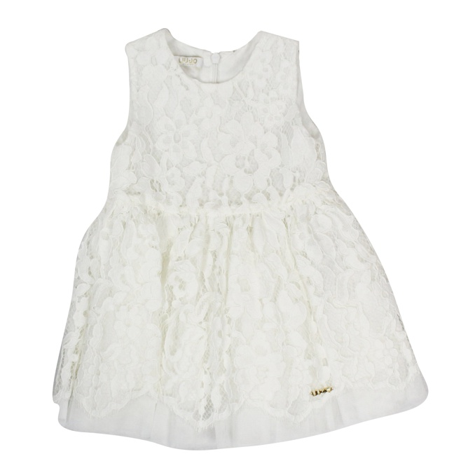 LACE DRESS White LIU JO