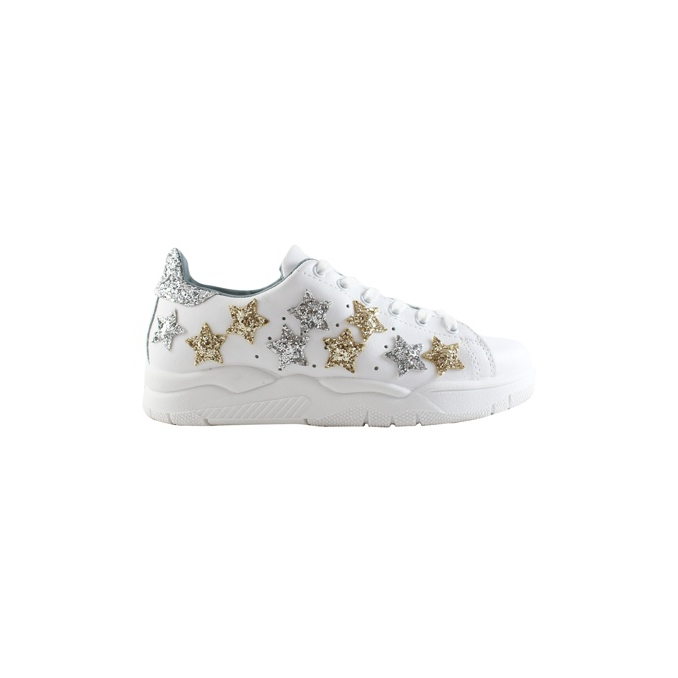 LEATHER SNEAKERS White CHIARA FERRAGNI