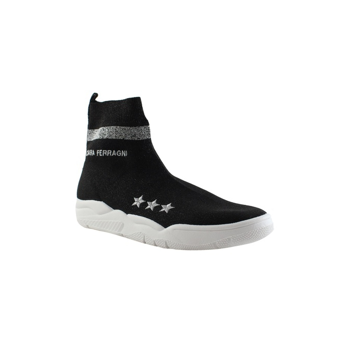 SNEAKERS SOCK Black CHIARA FERRAGNI