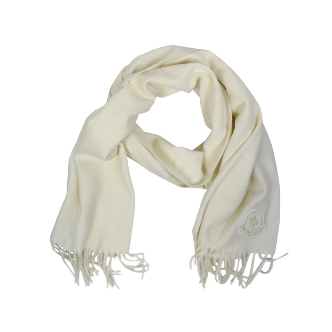 Wool scarf with fringes Butter Moncler