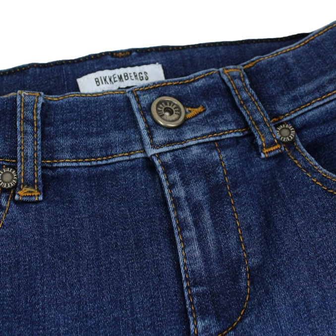Jeans medio Denim medio BIKKEMBERGS