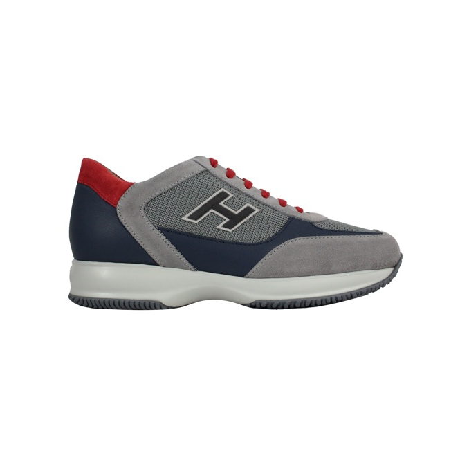 NEW INTERACTIVE H FLOCK Grigio/blu Hogan