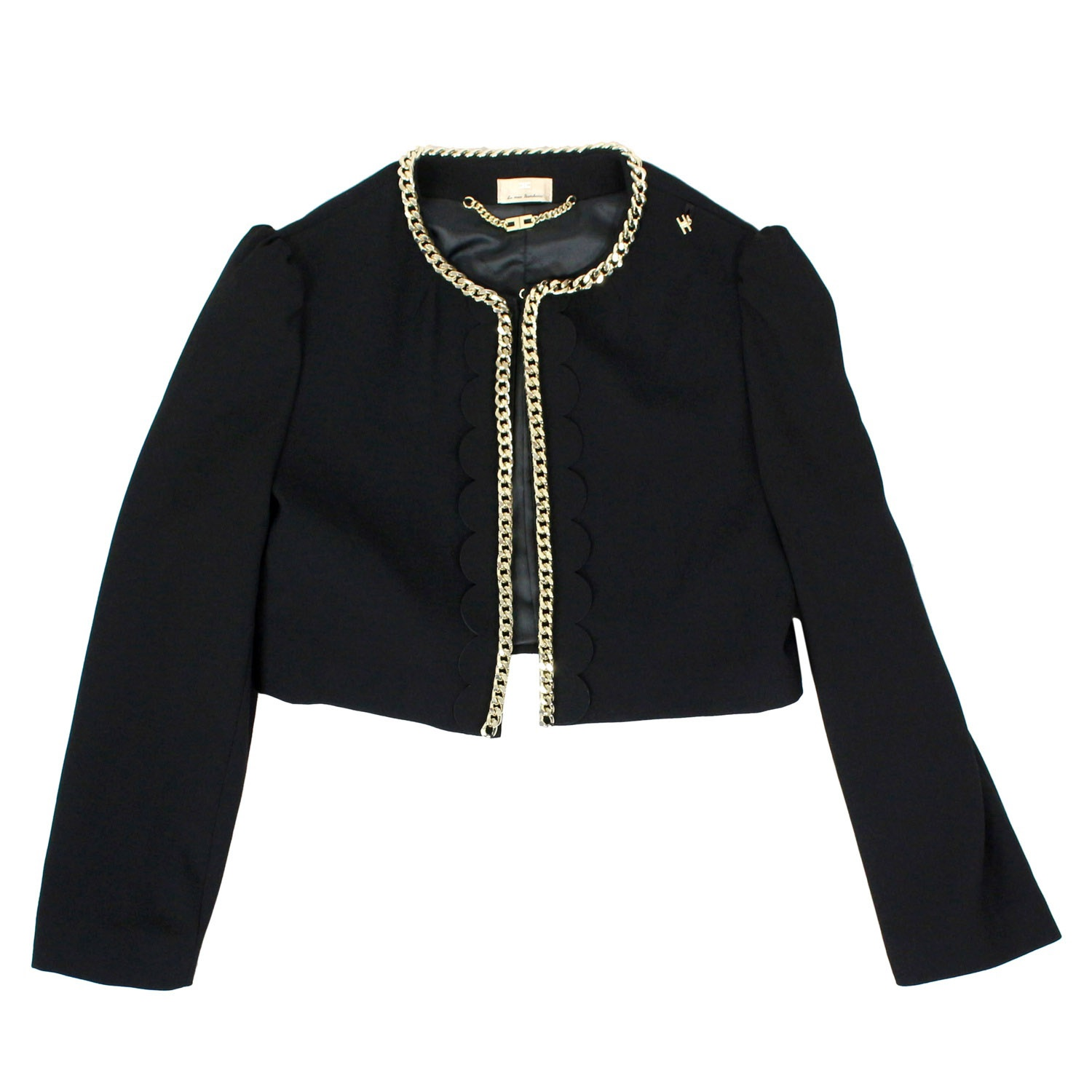 a8eaaabedc Short jacket with chains