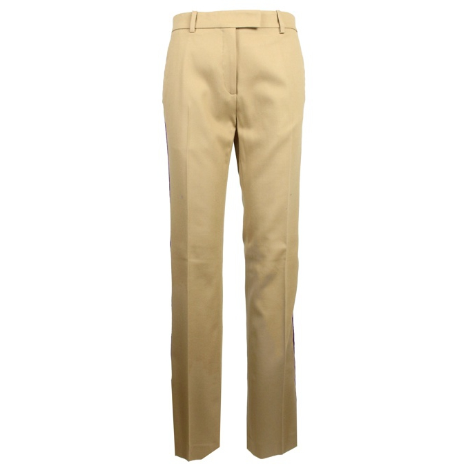 ERMANNO TROUSERS Camel Pinko