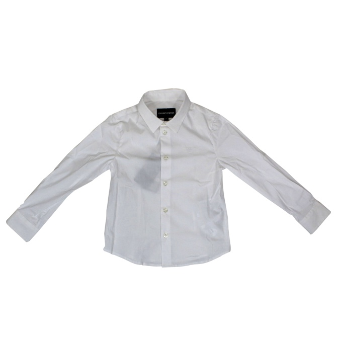 Shirt with French collar White EMPORIO ARMANI