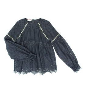 Blusa Hallowen Black Pinko