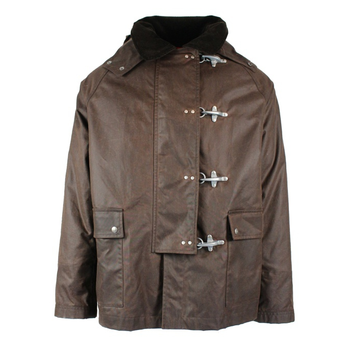 Jacket 4 hooks Brown Fay