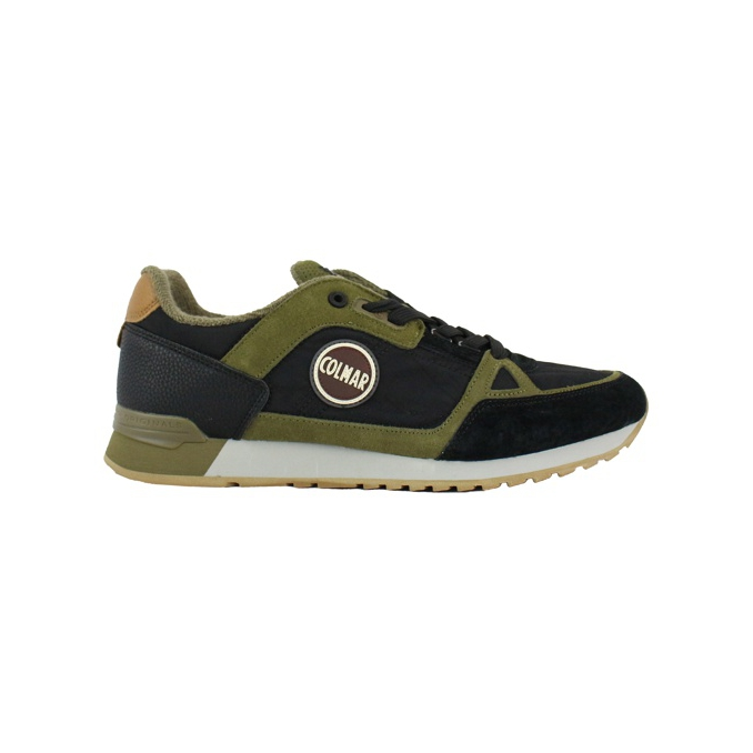 Travis Supreme Colors Sneakers Black / military COLMAR SHOES