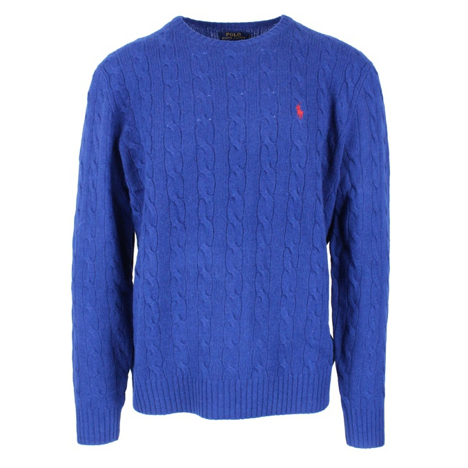 CABLE KNIT PULLOVER Cobalt Polo Ralph Lauren