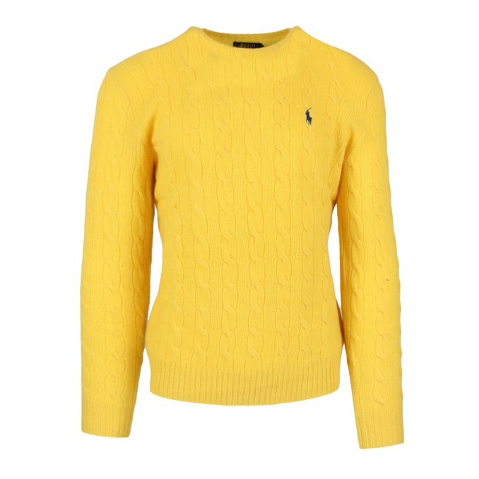 CABLE KNIT PULLOVER Yellow Polo Ralph Lauren