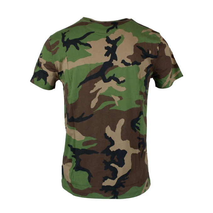 T-shirt camouflage con taschino Camouflage Polo Ralph Lauren