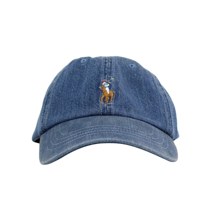 Denim baseball hat Denim Polo Ralph Lauren