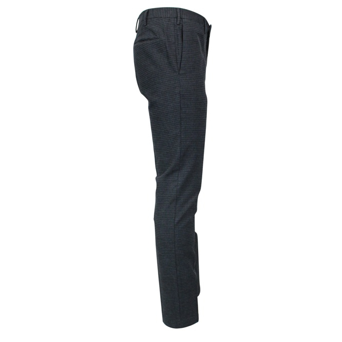 Skinny trousers with micro pattern Grey PT