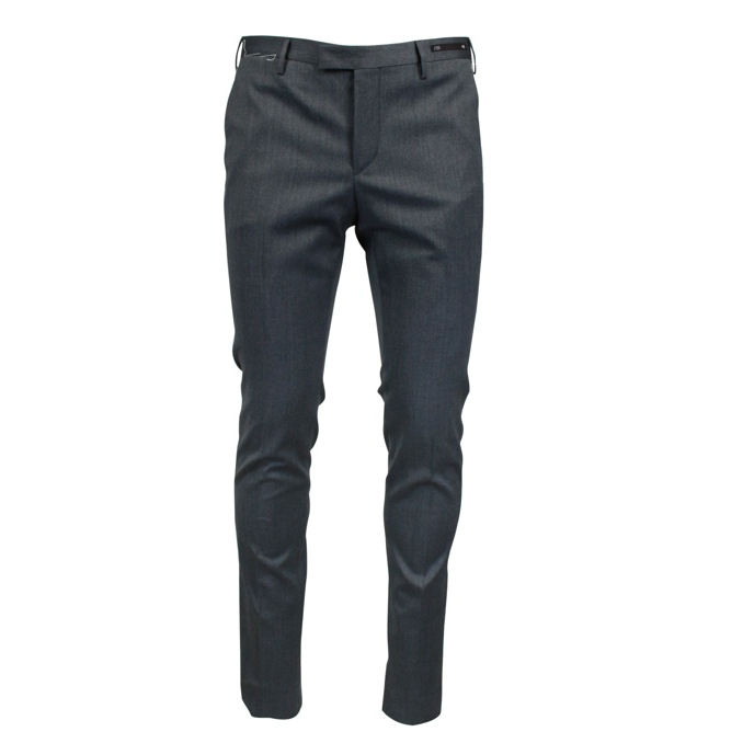 Wool trousers with america pockets Grey PT