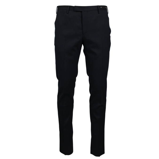 Wool trousers with america pockets Navy PT