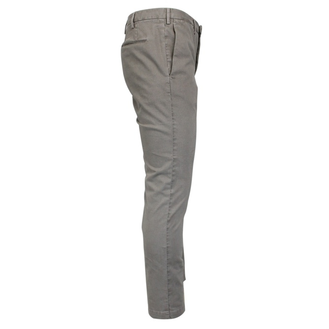 Solid color skinny trousers Tortora PT