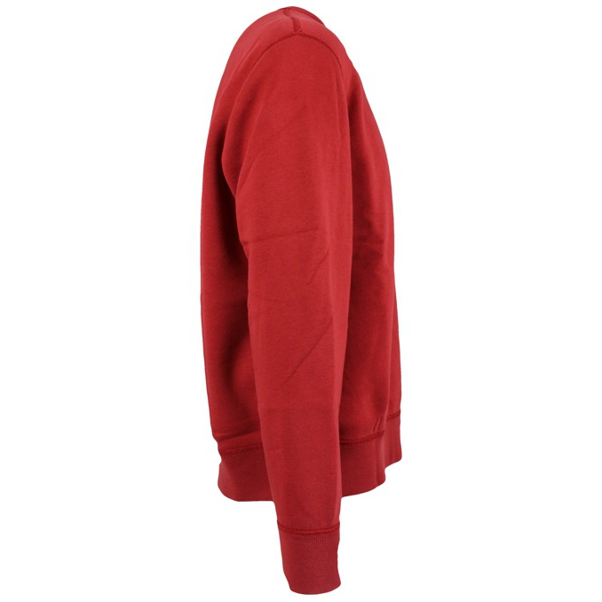 Crew-neck sweatshirt with elastic at the wrists and at the waist Red Polo Ralph Lauren