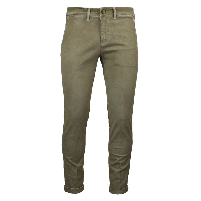Slim ankle chino trousers Sand Jeckerson