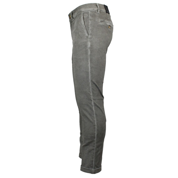 Slim ankle chino trousers Silver Jeckerson