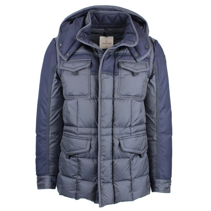 GIUBBOTTO JACOB Navy Moncler