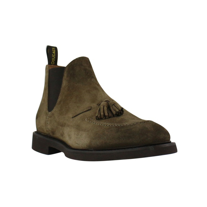 Chelsea boot in camoscio Tabacco Doucal's