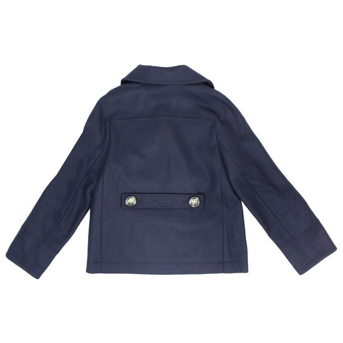 CAPPOTTO COLLO REVERS Blu Burberry