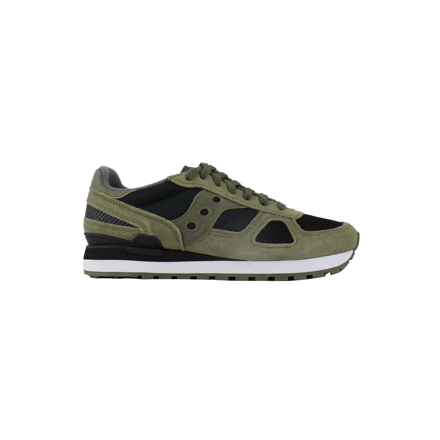 SAUCONY SHADOW ORIGINAL CL olive black sneakers (SHADOW S2108 655)