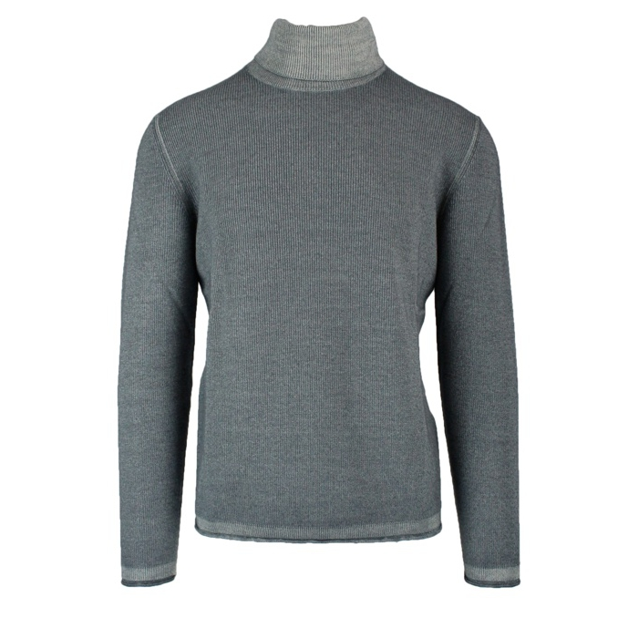Ribbed knitted sweater Grey ALTEA