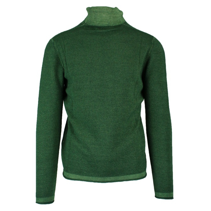 Ribbed knitted sweater Green ALTEA