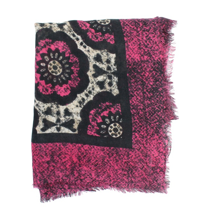 FOULARD MIRUM PRINTS Rosa marrone Maliparmi