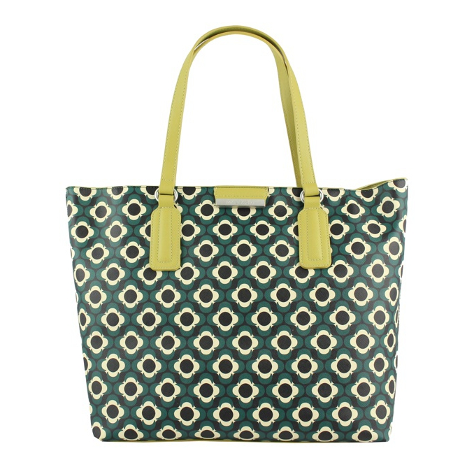 SHOPPING PRINTED Verde  nero Maliparmi