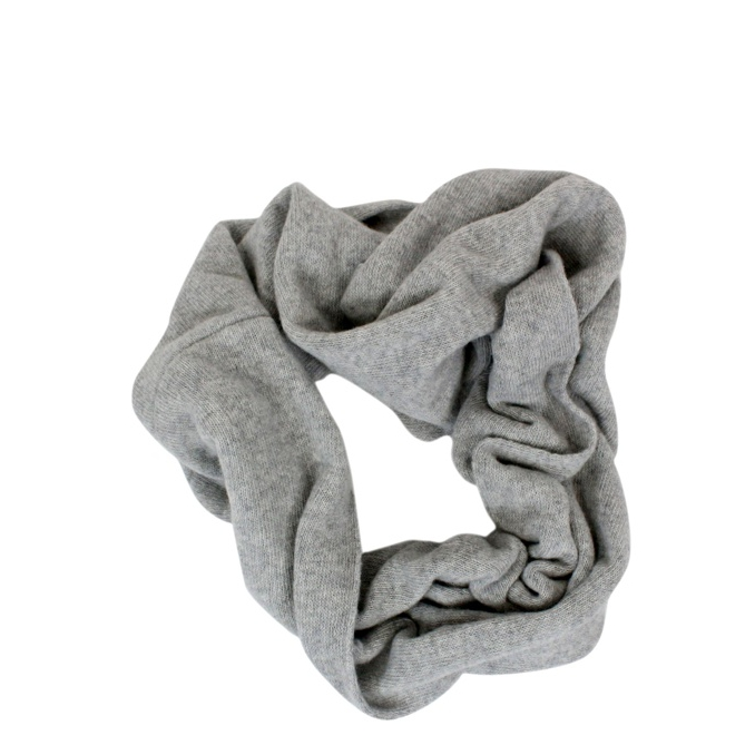 Neck scarf Light grey ANNECLAIRE
