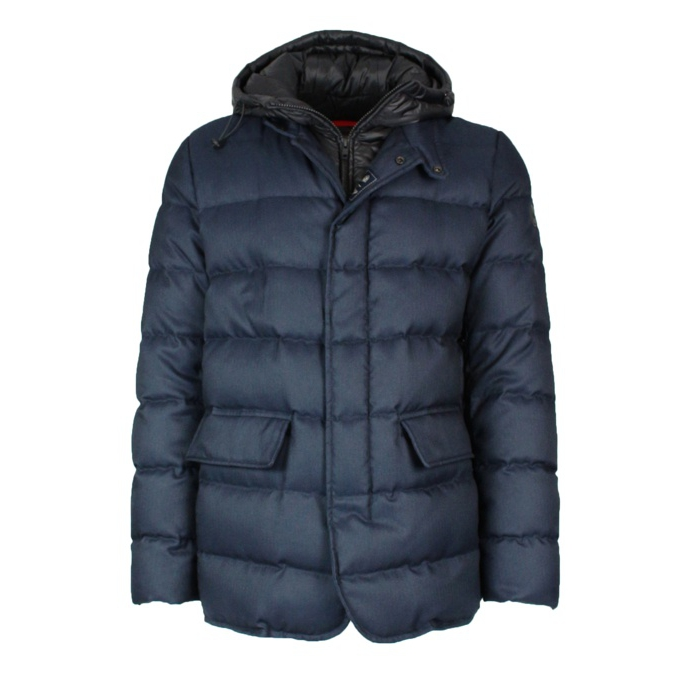 Long Banff Jkt down jacket Navy Fay