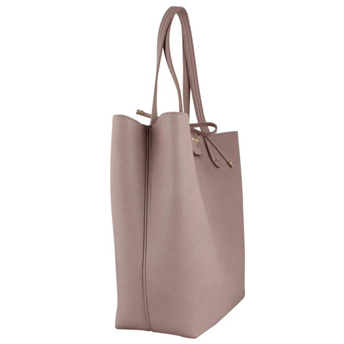 Reversible vertical shopping bag Ruby pink Patrizia Pepe