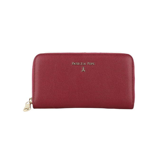 39ac67e0b23 Leather wallet with lettering Ruby, Patrizia Pepe 2v4879 aq41 ...