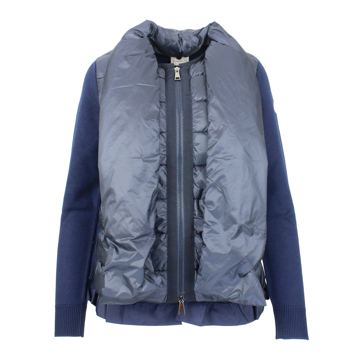 KNITTED CARDIGAN AND JACKET Navy Moncler ... f5ff9db949d