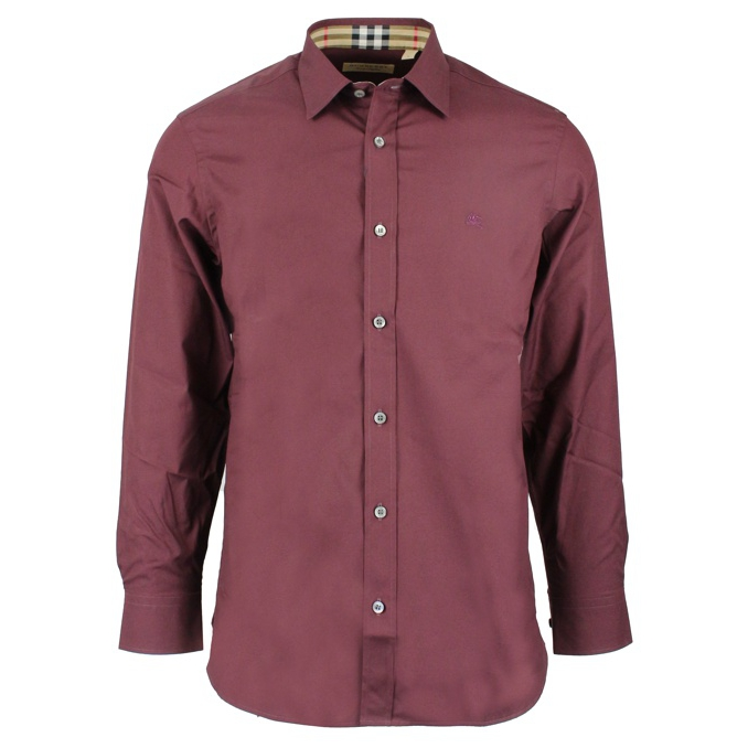 CAMICIA WILLIAM Rosso-scuro Burberry
