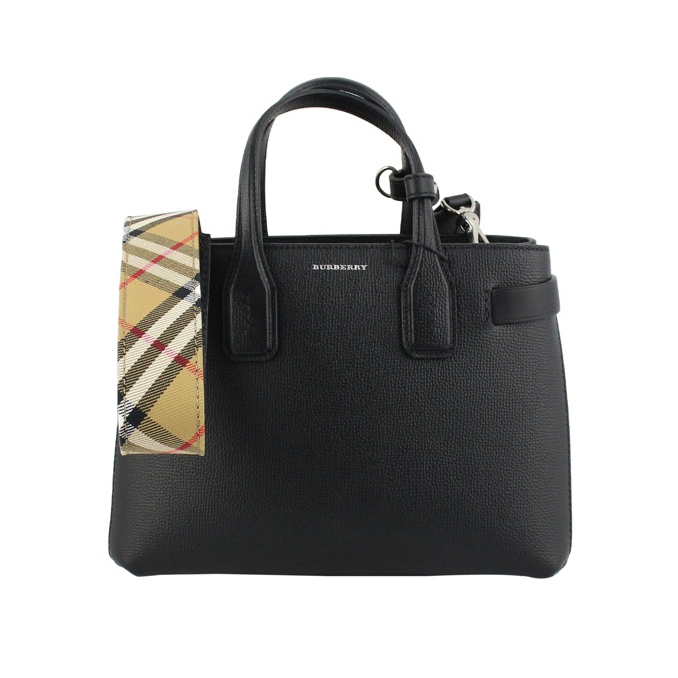 Small Banner bag Black Burberry