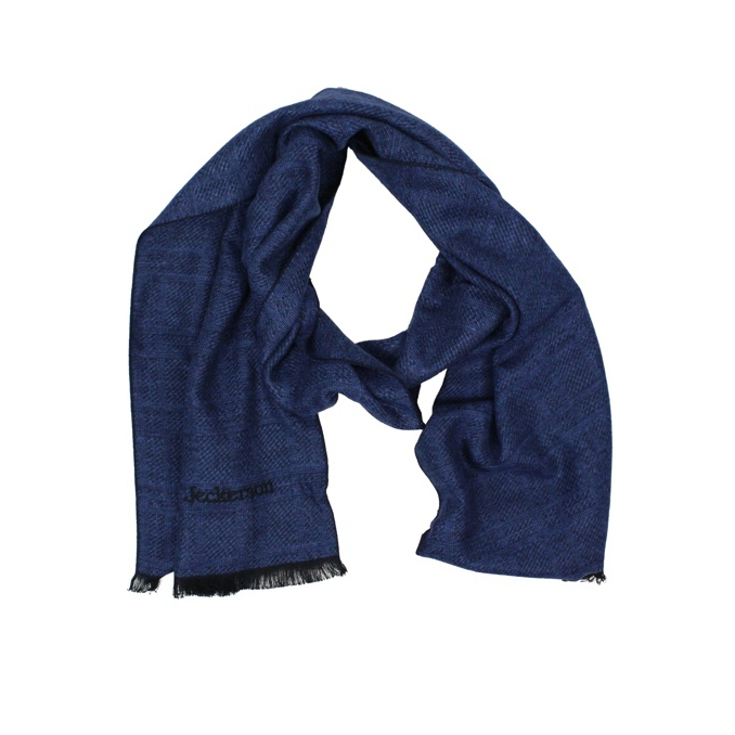 Scarf with logo embroidery Bluette Jeckerson