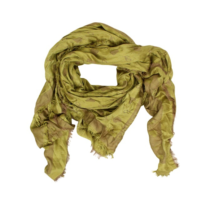 Viscose scarf Camel Twin-Set