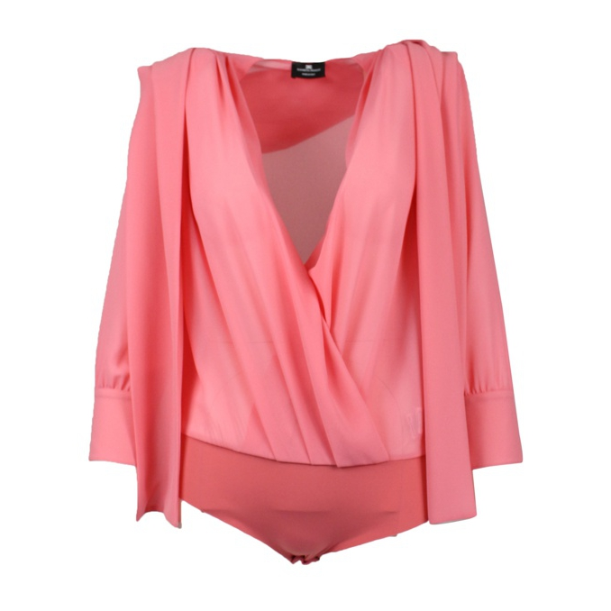 Body shirt with sash Peony Elisabetta Franchi