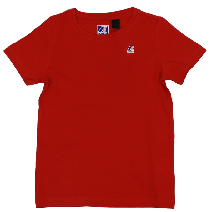 T-shirt Le Vra Edouard Rosso K-Way