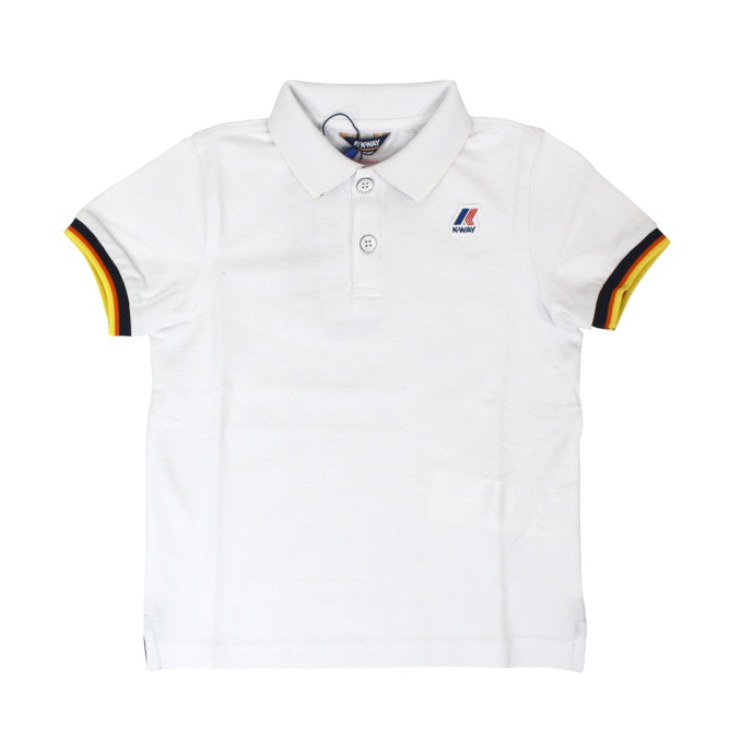 Polo Vincent Contrast White K-Way