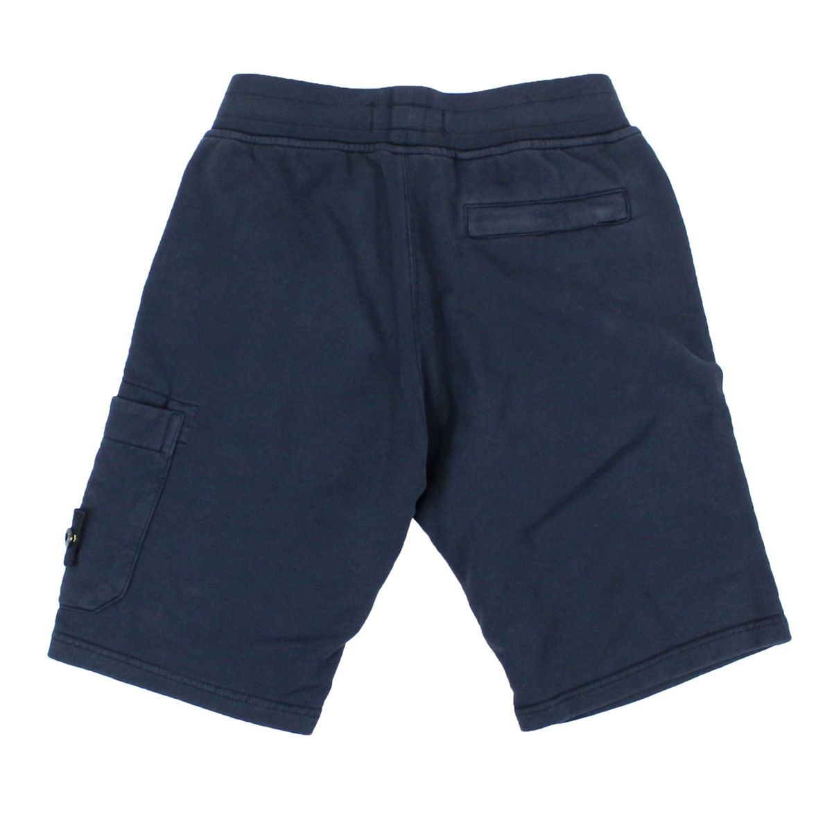Fleece shorts with pocket Blue Stone Island