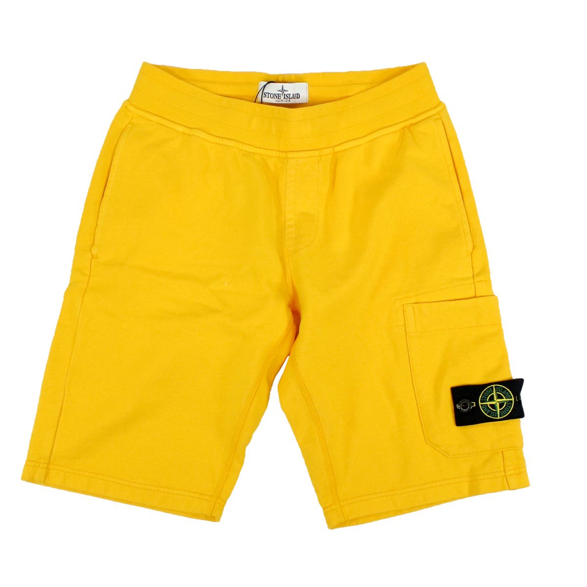 Fleece shorts with pocket Yellow Stone Island